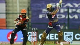 IPL 2020 Points Table Latest Update After KKR vs SRH, Match 8: Delhi Capitals on Top, Faf Du Plessis, Kagiso Rabada Retain Orange And Purple Cap Respectively